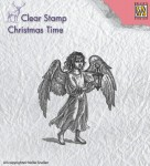 Stempel akrylowy Nellie's Choice Clear Stamp CT021 CHRISTMAS TIME