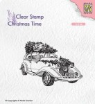 Stempel akrylowy Nellie's Choice Clear Stamp CT031 CHRISTMAS TIME