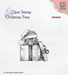 Stempel akrylowy Nellie's Choice Clear Stamp CT033 CHRISTMAS TIME Christmas surprise