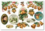 Papier ryżowy Stamperia DFS 221 Victorian Christmas Bells