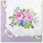 Serwetka do decoupage 3493 Bouquet de roses R2S