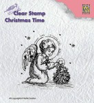 Stempel akrylowy Nellie's Choice Litle Angel decorating CT016