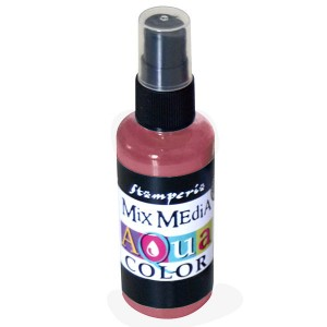 Mgiełka Aquacolor Spray mahoń 60ml KAQ 010