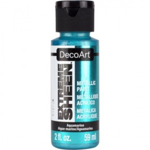 Farba metaliczna DecoArt Extreme Sheen AQUAMARINE 59 ml