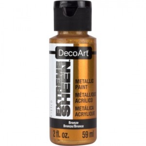 Farba metaliczna DecoArt Extreme Sheen BRONZE 59 ml