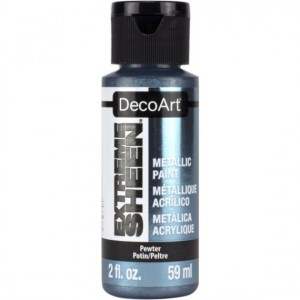 Farba metaliczna DecoArt Extreme Sheen PEWTER 59 ml