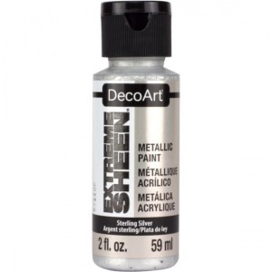 Farba metaliczna DecoArt Extreme Sheen STERLING SILVER 59 ml