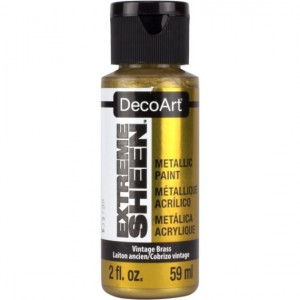 Farba metaliczna DecoArt Extreme Sheen VINTAGE BRASS 59 ml