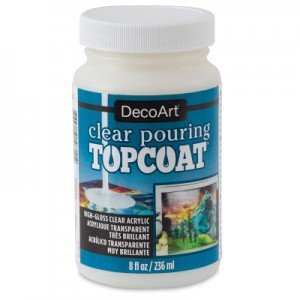 Medium do pouringu DecoArt CLEAR POURING TOP COAT 236 ml