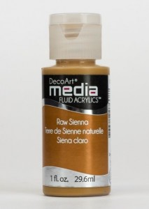 Fluid akrylowy DecoArt Fluid Acrylics RAW SIENNA 29,6ml