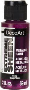 Farba metaliczna DecoArt Extreme Sheen BERRY 59 ml