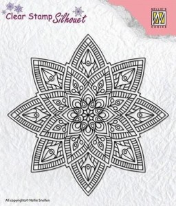 Stempel akrylowy Nellie's Choice Clear Stamp SILHOUET SIL040