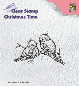 Stempel akrylowy Nellie's Choice Clear Stamp CHRISTMAS TIME CT015
