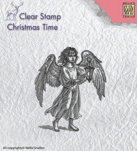 Stempel akrylowy Nellie's Choice Clear Stamp CHRISTMAS TIME CT021