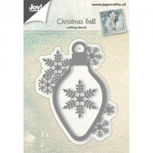 Wykrojnik  do wycinania Joy! Crafts Cutting stencil 6002/0681 CHRISTMAS BELL