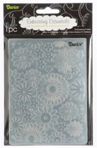 Folder do embossingu Darice 1217-41 EMBOSSING FOLDER KWIATUSZKOWE TŁO