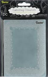 Folder do embossingu Darice 1217-48 EMBOSSING FOLDER ORNAMENTOWA RAMECZKA