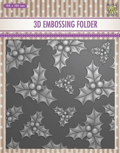 Folder do wytłaczania 3D Nellie's Choice EF3D14 3D EMBOSSING FOLDER