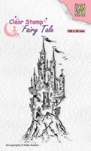 Stempel akrylowy Nellie's Choice Clear stamp FTCS017 FAIRY TALE