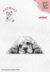 Stempel akrylowy Nellie's Choice Clear Stamp ANI022 ANIMALS Spaniel