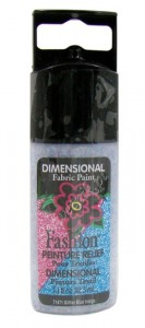 Konturówka brokatowa 3D Plaid Peinture Relief Glitter BLUE INDIGO 32,5ml