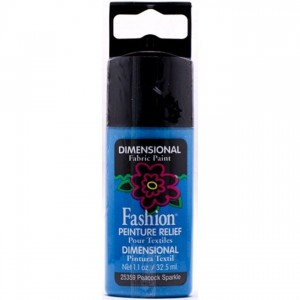 Konturówka 3D Plaid Peinture Relief iskrząca Peacock Sparkle 32,5ml