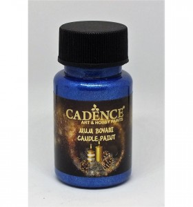 Farba do świec Cadence Candle paint  SAX BLUE 59ml