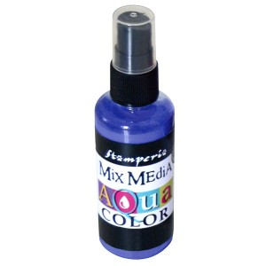 Mgiełka Aquacolor Spray fiolet 60ml KAQ 013
