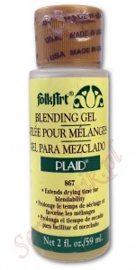 Medium opóźniające do akryli Plaid Blending Gel 59ml