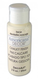 Farba kredowa Americana Decor Chalky Finish Lace ecru 59ml ADC02