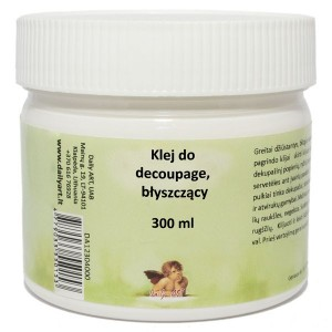 Klej do decoupage DailyArt błyszczący 300ml