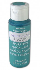 Farba kredowa Americana Decor Chalky Finish TREASURE 59ml ADC19