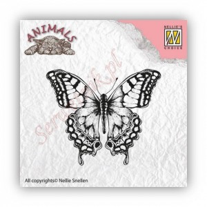 Stempel akrylowy Nellie's Choice ANI010 Animals Motyl