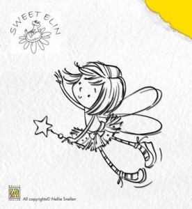 Stempel akrylowy Nellie's Choice Clear Stamp SWE001 SWEET ELIN Star