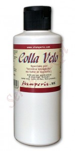 Klej do decoupage i tkanin Stamperia Colla Velo 200ml