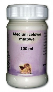 Medium żelowe matowe DailyArt 100ml