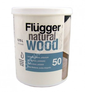 Flugger Natural Wood Lakier do drewna 0,75l