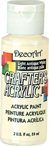 Farba akrylowa Crafter's Acrylic Light Antique White biel antyczna 59ml DCA02