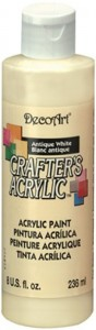 Farba akrylowa Crafter's Acrylic Antique White 236ml DCA03