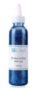 Brokat w kleju dPCraft jasnoniebieski light blue120ml