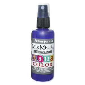 Mgiełka Aquacolor Spray Iridescent fioletowa perłowa 60ml KAQ 028
