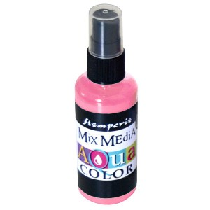 Mgiełka Aquacolor Spray baby pink 60ml KAQ 007