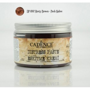 Pasta postarzająca Cadence Distress Paste RUSTY BROWN 150ml