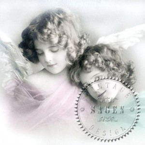 Serwetka do decoupage 2840 Sweet Angels SVD