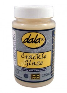 Dwuskładnikowy preparat do spękań Dala Crackle Glaze Step 2 - lakier do spękań - 250ml