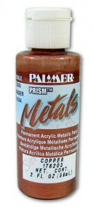 Farba metaliczna Prism Acrylic Metals Copper 59ml