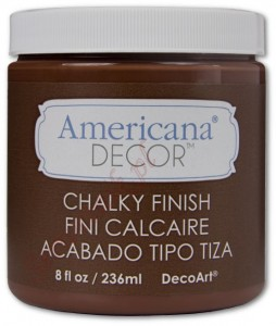 Wosk Americana Decor Creme Wax Deep Brown 236ml ADM07