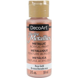 Farba metaliczna Dazzling Metallics ROSE GOLD 59ml DA336