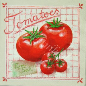 Serwetka do decoupage 2525 Tomatoes IHR