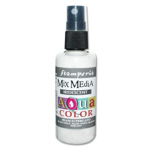 Mgiełka Aquacolor Spray Iridescent biała perłowa 60ml KAQ 019